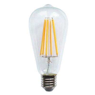 Żarówka LED VINTAGE ST64-LL, 6W / 2200K / E27