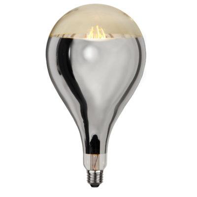 Żarówka LED INDUSTRIAL VINTAGE SILVER A165, 8W / 2000K / E27