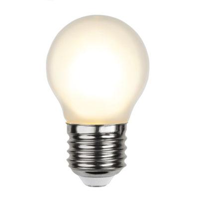 Żarówka do girlandy LED G45 FROSTED, 1.5W / 2700K / E27