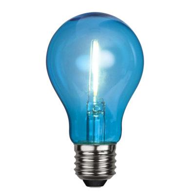 Żarówka LED DECORATION PARTY BLUE, 1W / E27