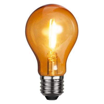 Żarówka LED DECORATION PARTY ORANGE, 1W / E27