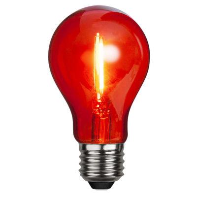Żarówka LED DECORATION PARTY RED, 1W / E27