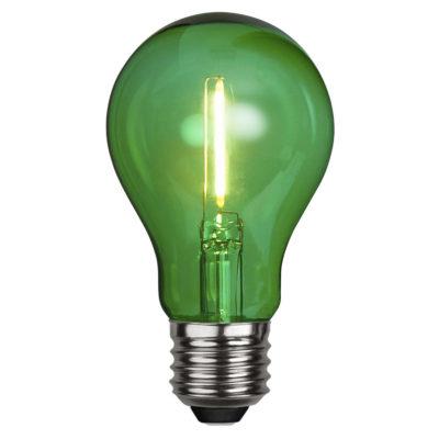 Żarówka LED DECORATION PARTY GREEN, 1W / E27