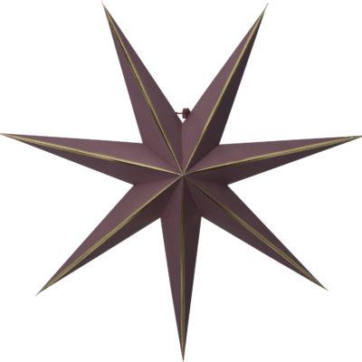 Gwiazda papierowa RED GLOW 60CM