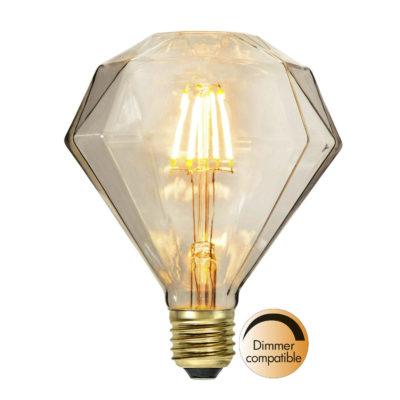 Żarówka LED DIAMOND SOFT GLOW, 1.65W / 2200K / E27