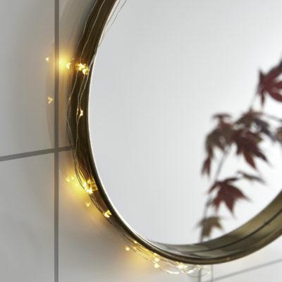 Lampki-druciki SILVER DEW DROP 40