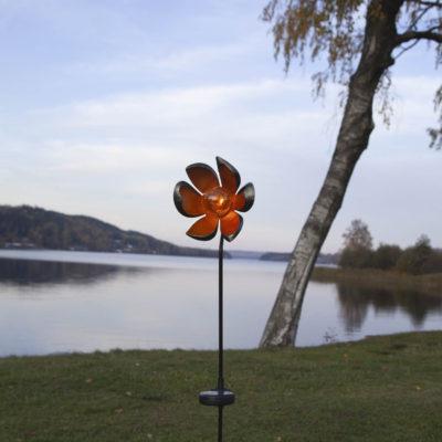 Ozdoba ogrodowa FLOWER SOLAR