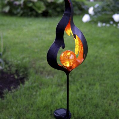 Ozdoba ogrodowa FLAME SOLAR