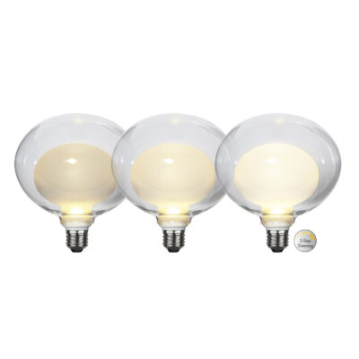 Żarówka LED ELIPSE WIDE 3-STEP, 3.5W / 2700K / E27