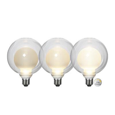 Żarówka LED ELIPSE 3-STEP, 3.5W / 2700K / E27