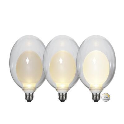 Żarówka LED ELIPSE BIG 3-STEP, 3.5W / 2700K / E27