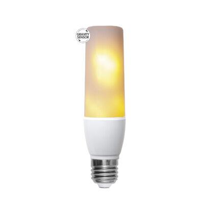 Żarówka LED - imitacja płomienia T45 FLAME, 2.4W-5.9W / 1800K / E27