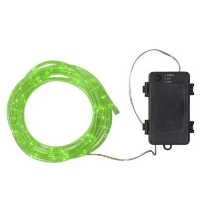 5m girlanda świetlna na baterie TUBY GREEN