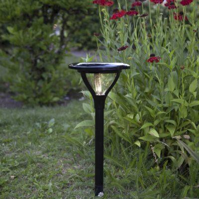 Lampion zewnętrzny z panelem słonecznym MERVIA Panele słoneczne