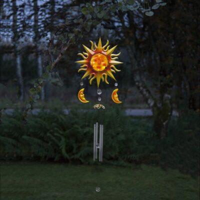 Dekoracja zewnętrzna z panelem słonecznym WINDY SOLAR